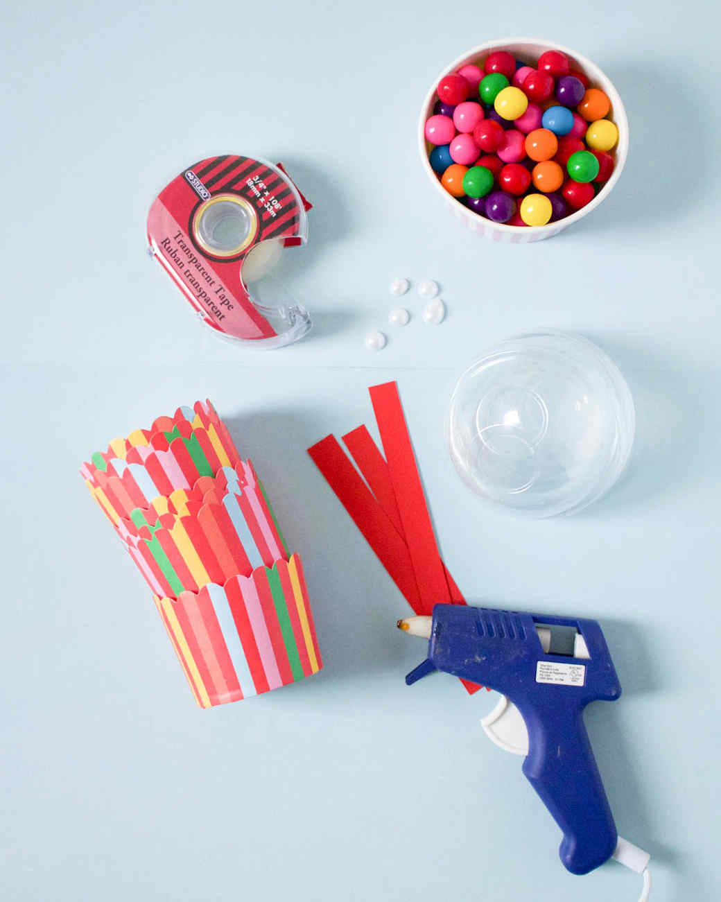 mini gum ball machine party favor materials