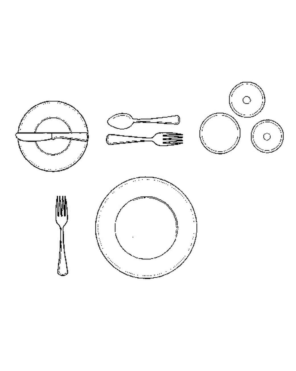 sc 1 st  Martha Stewart : table place setting diagram - pezcame.com
