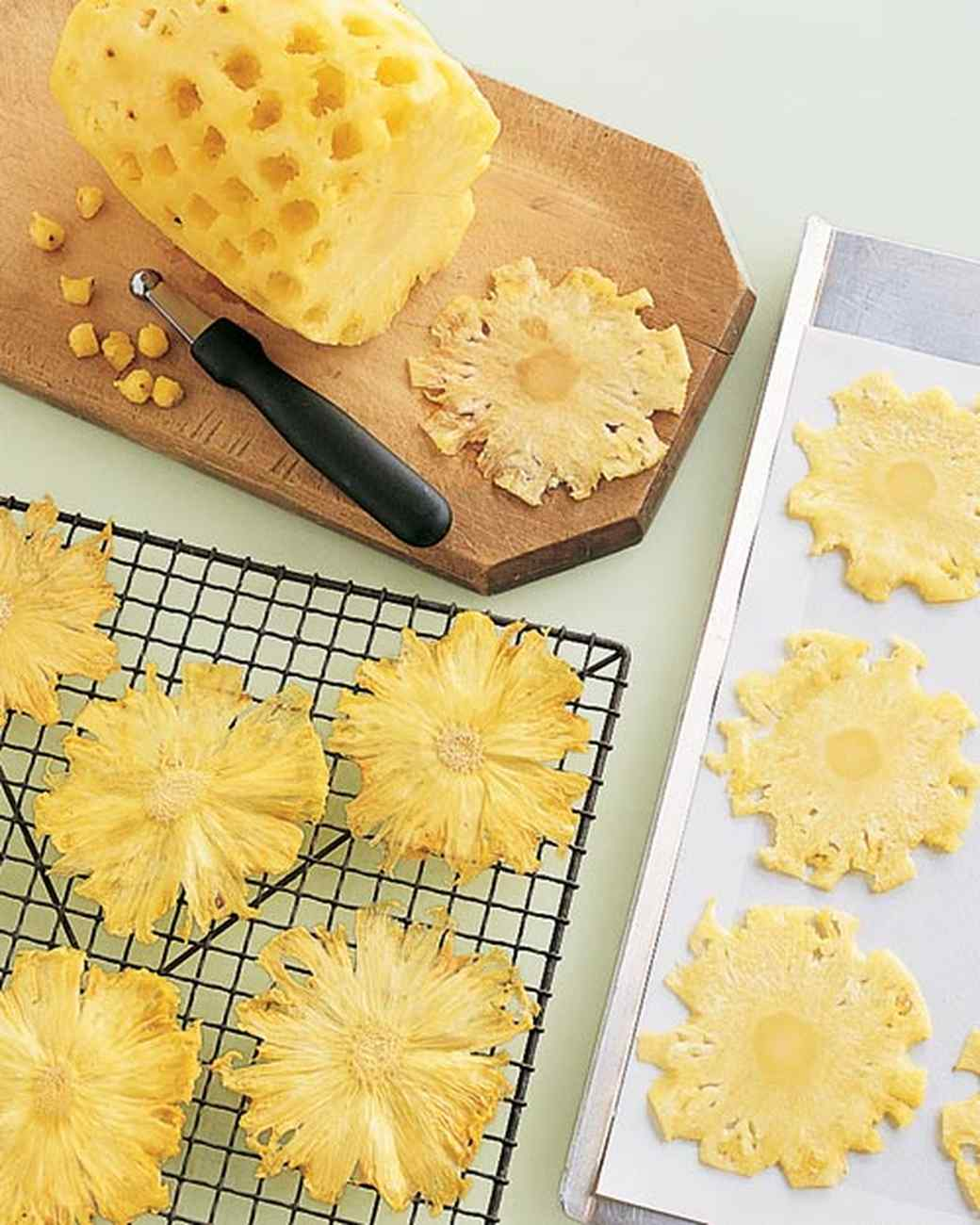Dried Pineapple Flowers Recipe | Martha Stewart