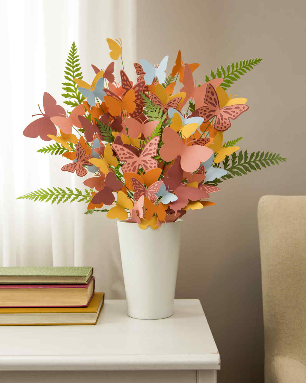 Martha Stewart Cricut 174 Paper Butterfly Bouquet Martha