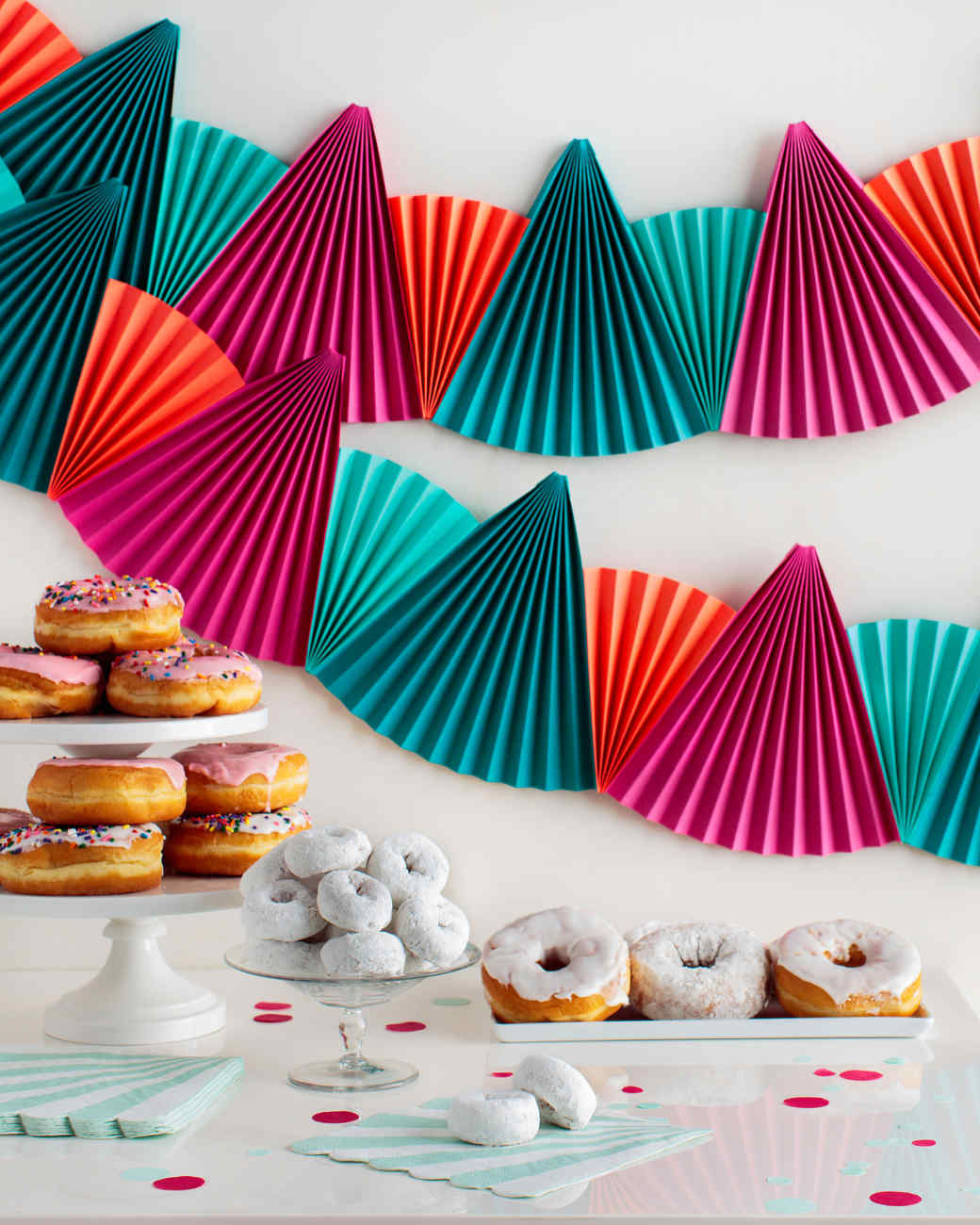 Easy, Festive Paper-Fan Bunting That's Perfect for Any ...