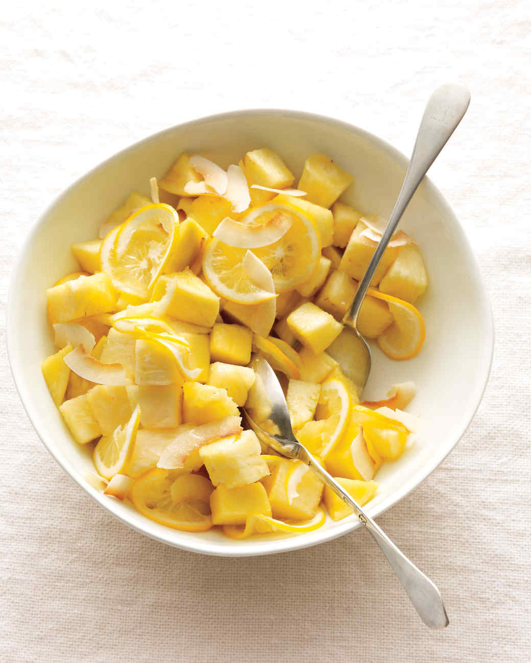 Pineapple, Mango, and Meyer Lemon Salad