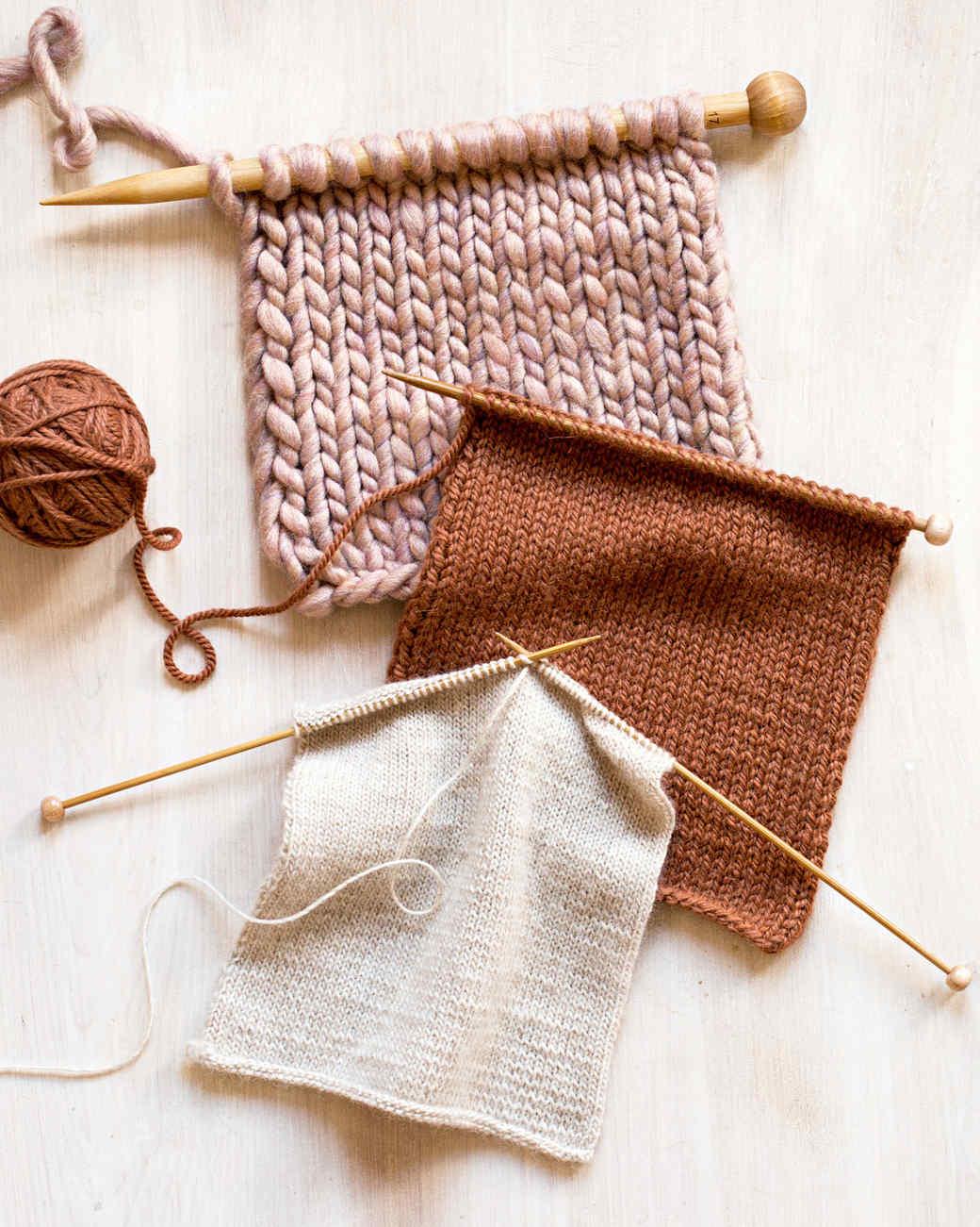 yarn swatches