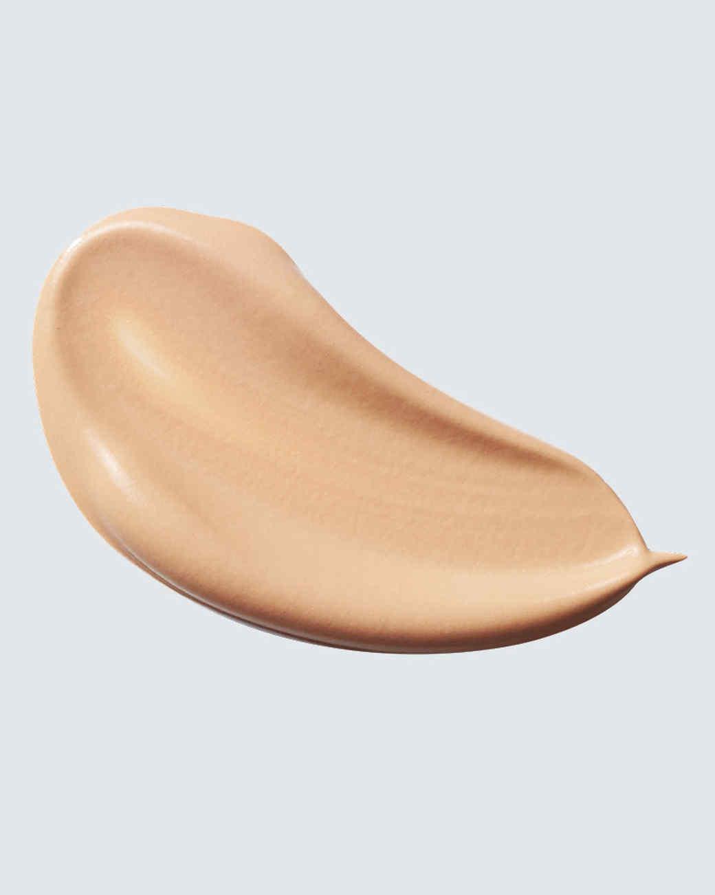 smear of tinted moisturizer