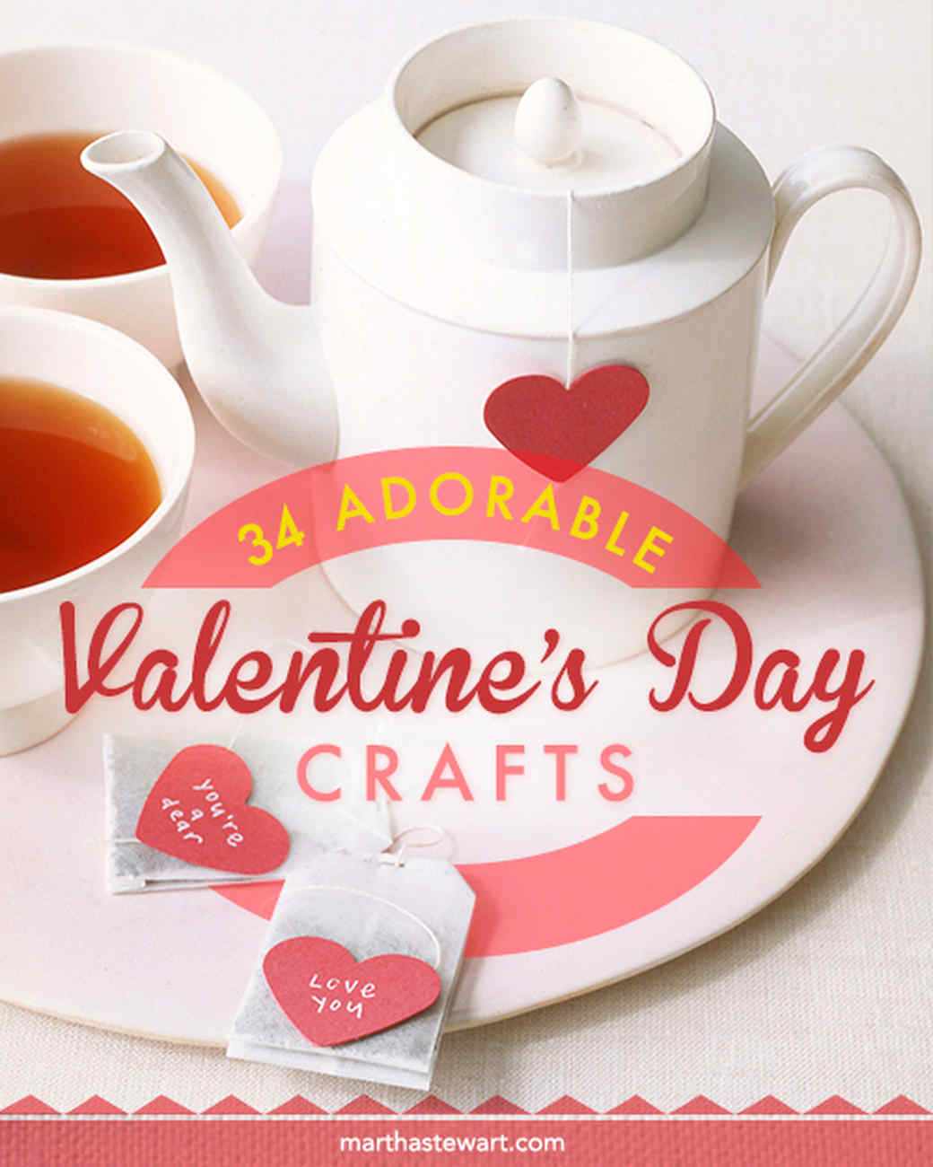 Make it a Handmade Valentineu0027s Day  sc 1 st  Martha Stewart & 37 Valentineu0027s Day Crafts to Make From the Heart | Martha Stewart