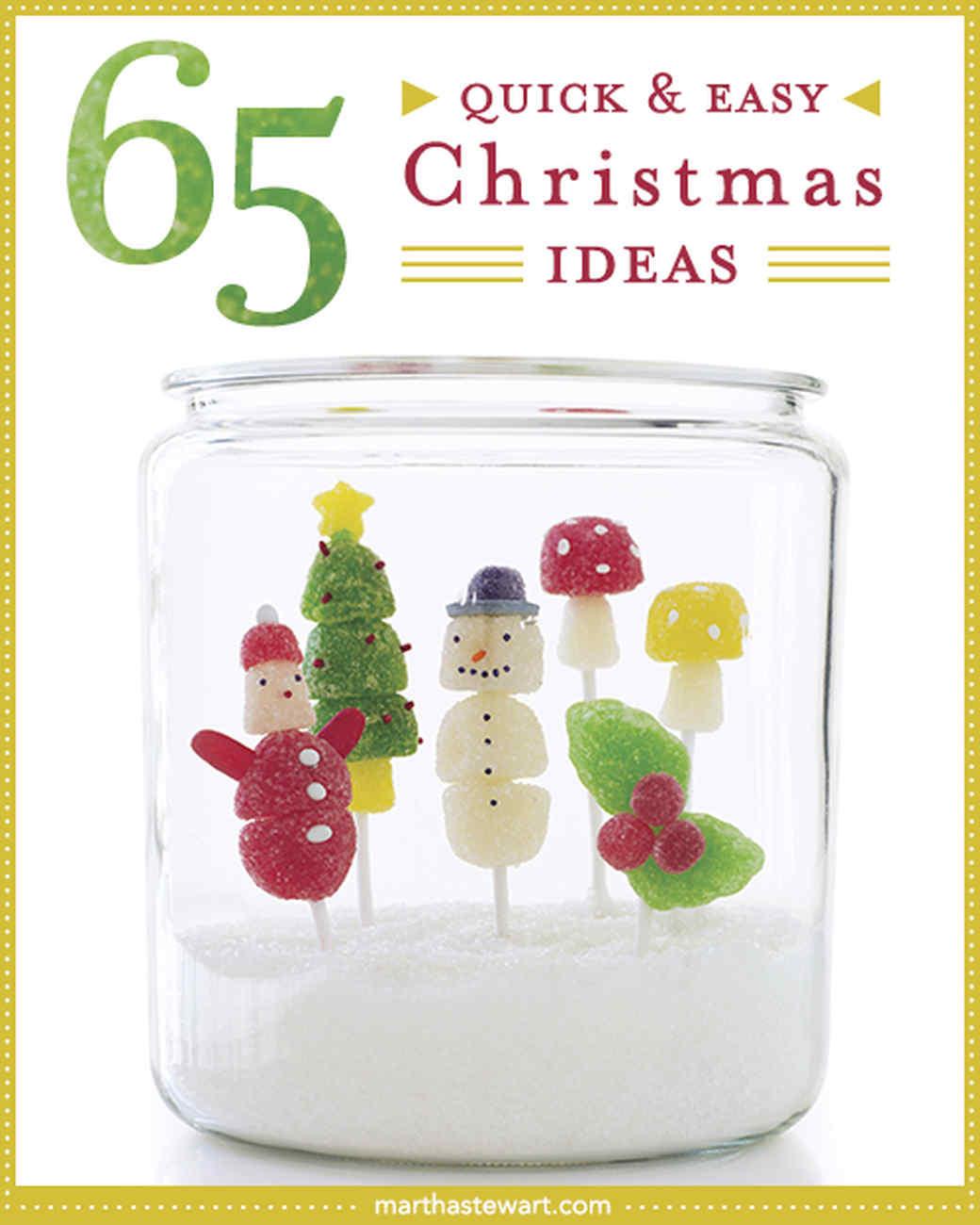 Last-Minute Christmas Ideas | Martha Stewart