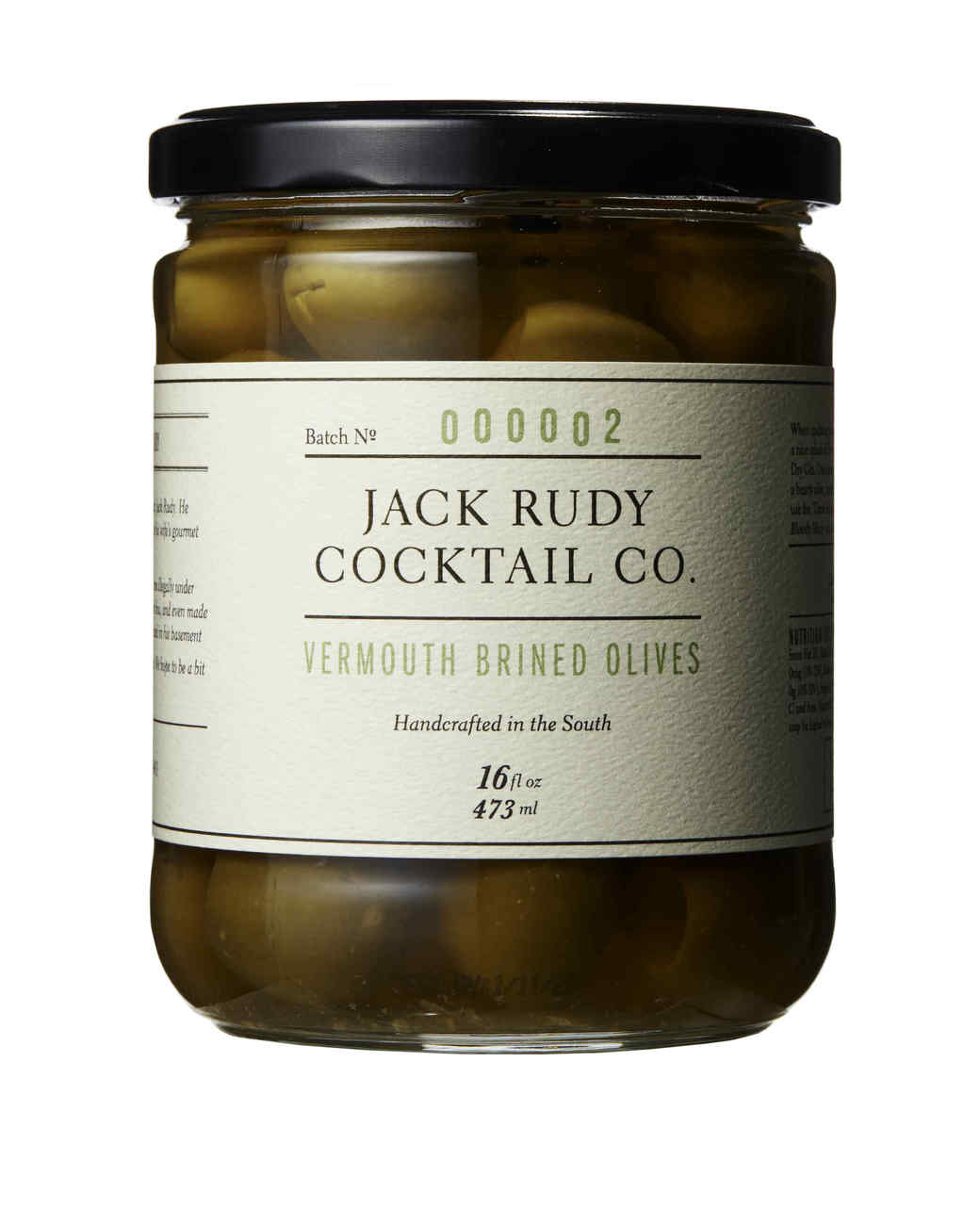 brined olives in jar