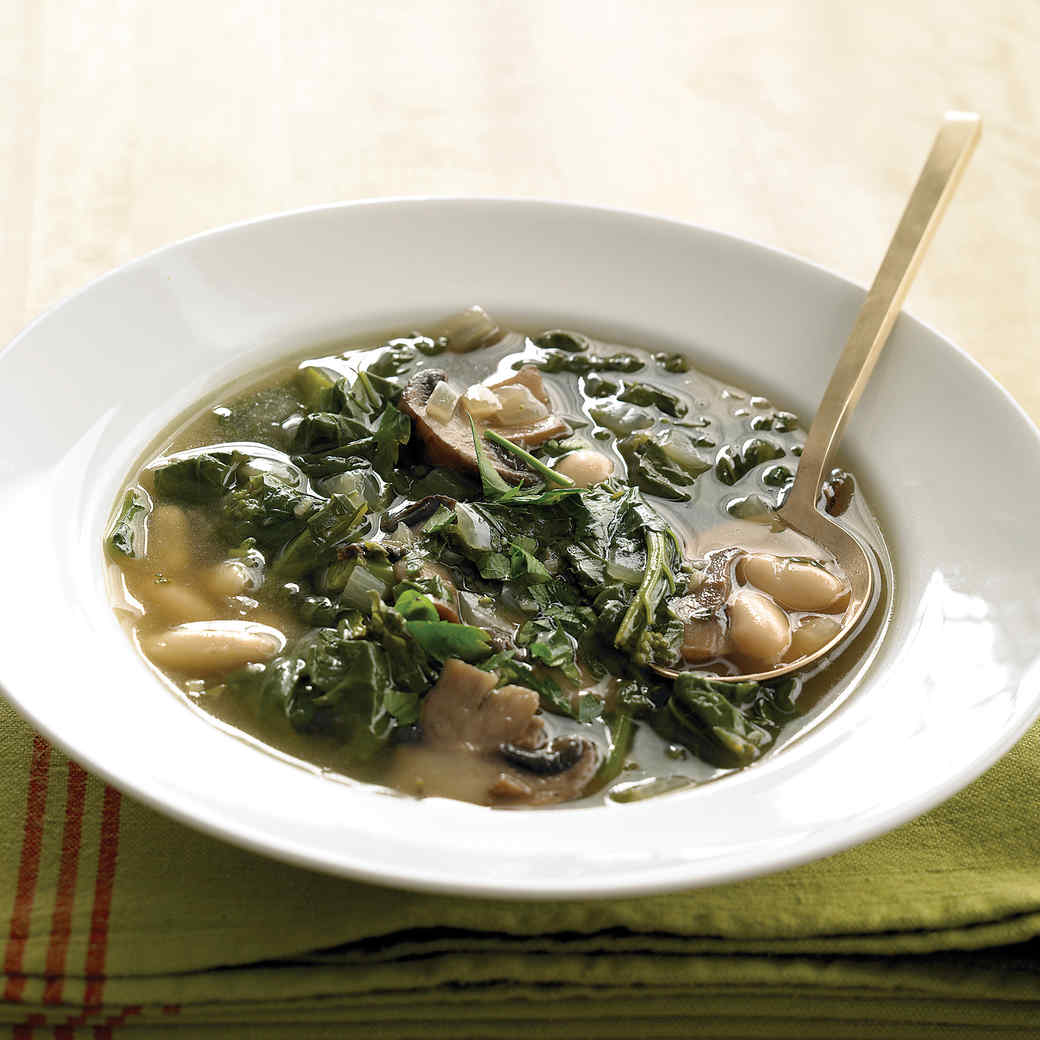 Broccoli Rabe and White-Bean Soup