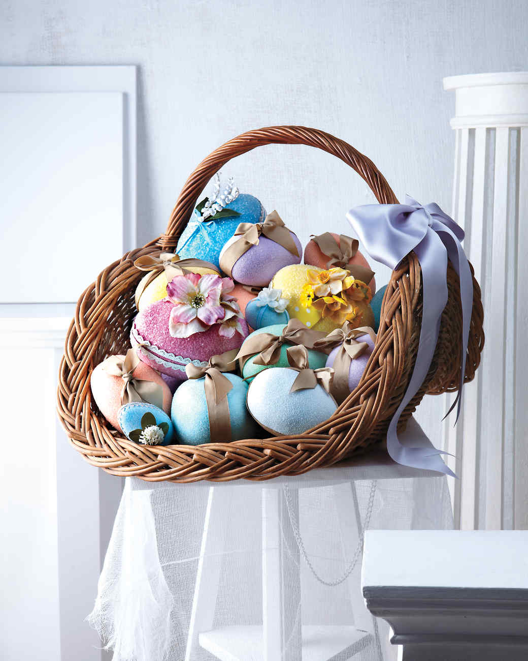 Marthas stunning easter basket creations martha stewart negle Image collections