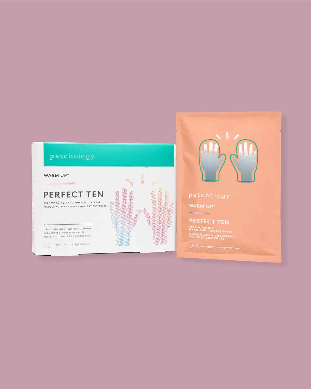 Patchology Perfect Ten Self-Warming Hand & Cuticle Mask