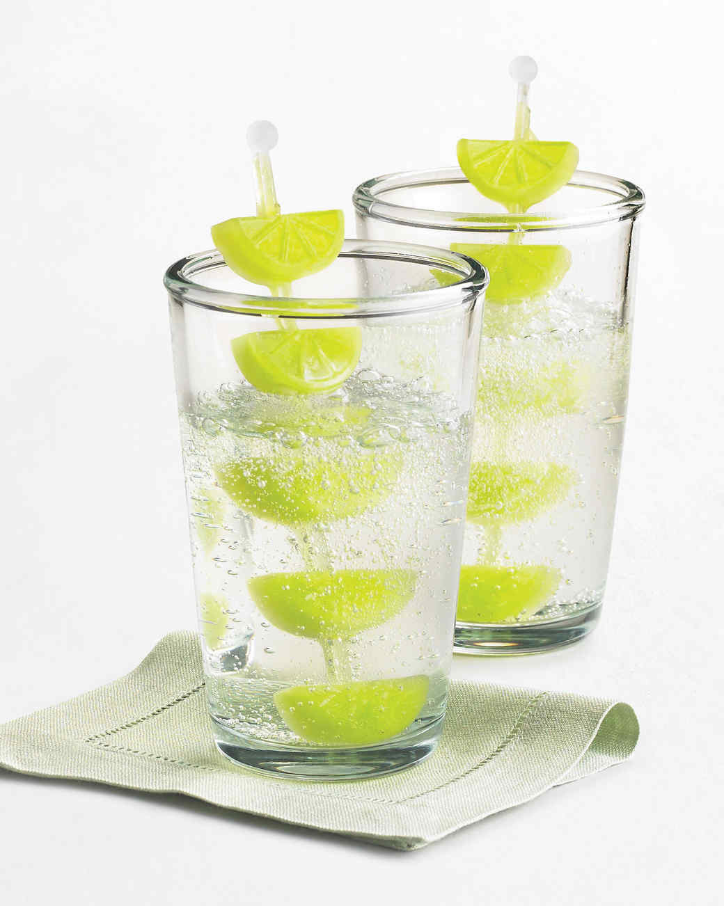 macys lime shaped ice cubes