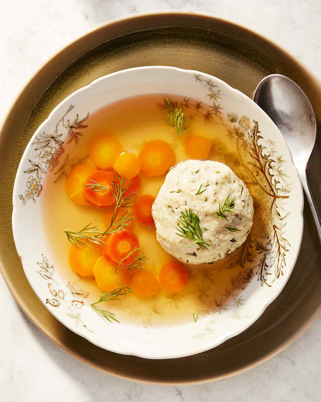 matzo ball chicken broth soup