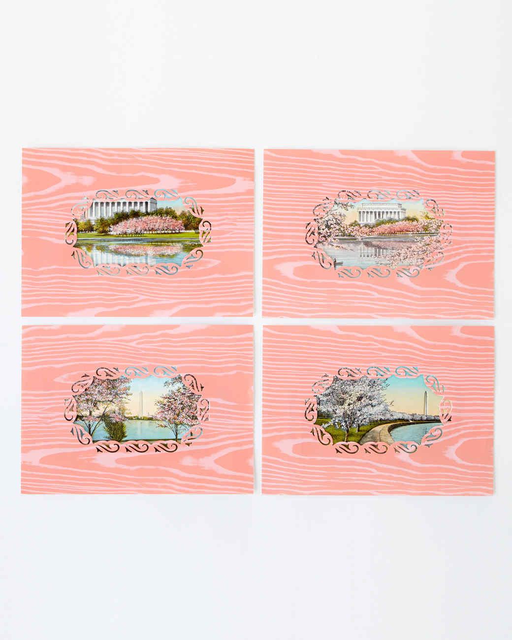Frame Border Punch Postcard Frames