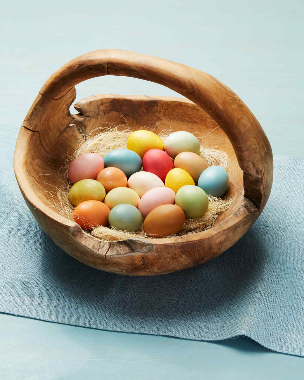 How To Naturally Dye Easter Eggs Video Martha Stewart