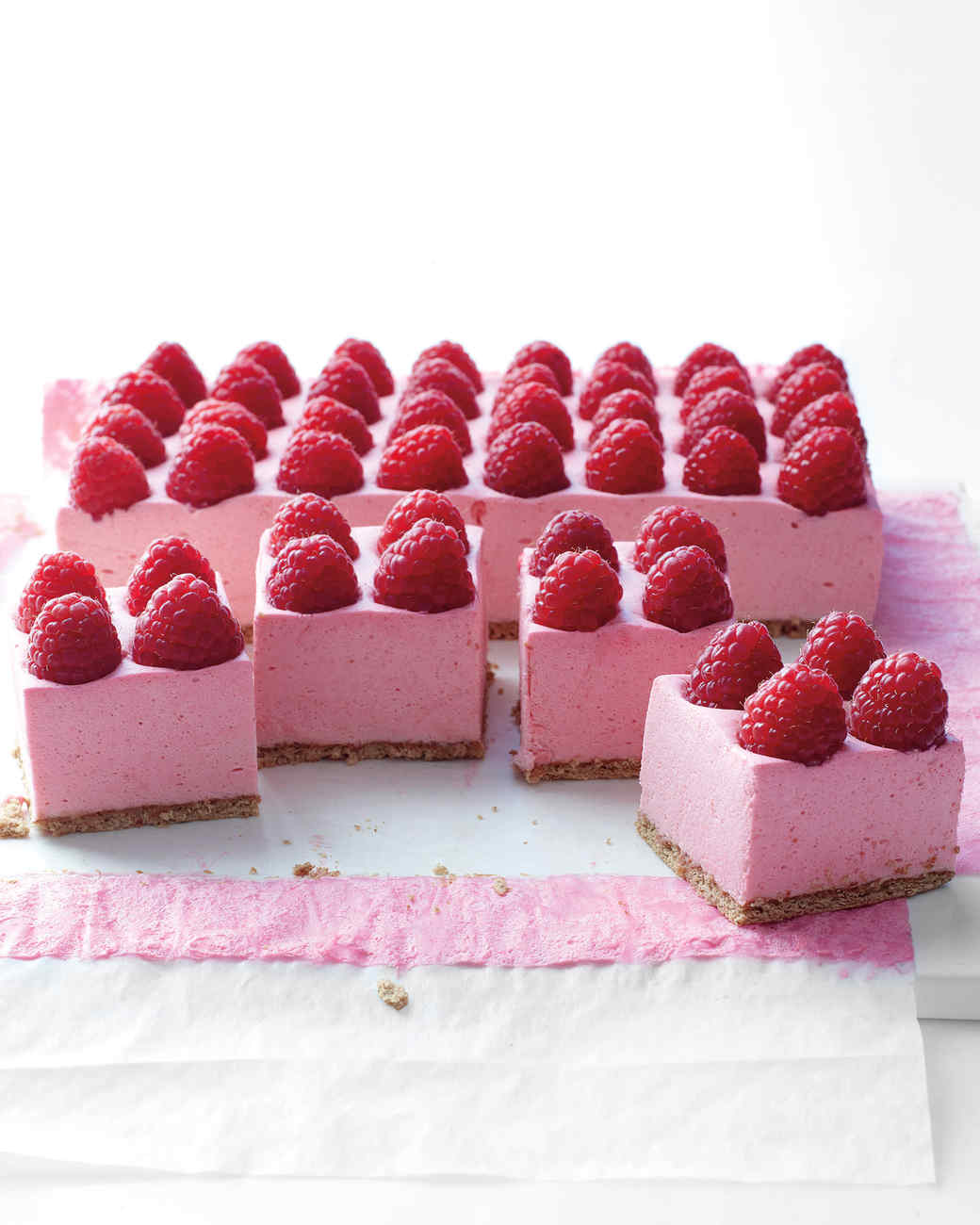 Raspberry Mousse Pie Recipe | Martha Stewart