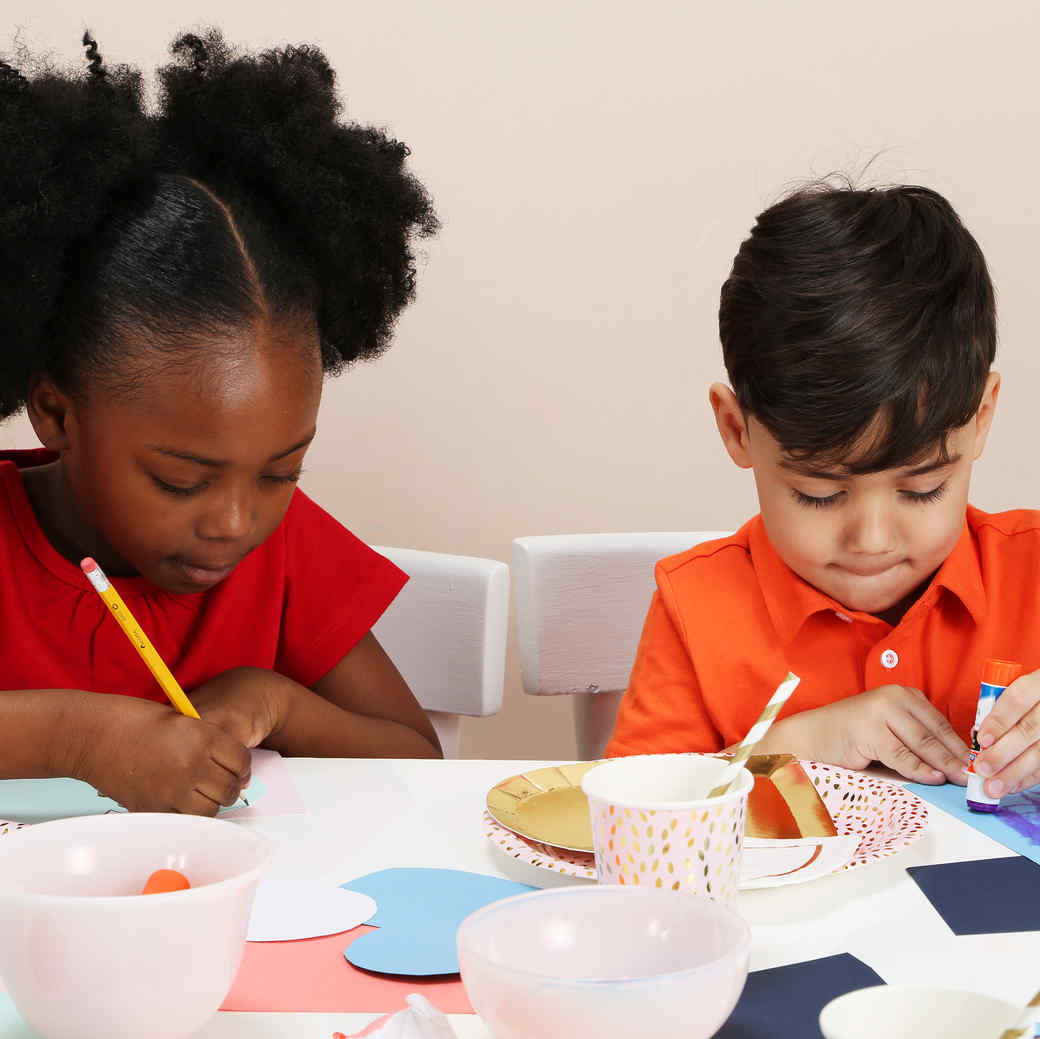 Host The Kids For A Valentine S Day Crafternoon Party Martha Stewart