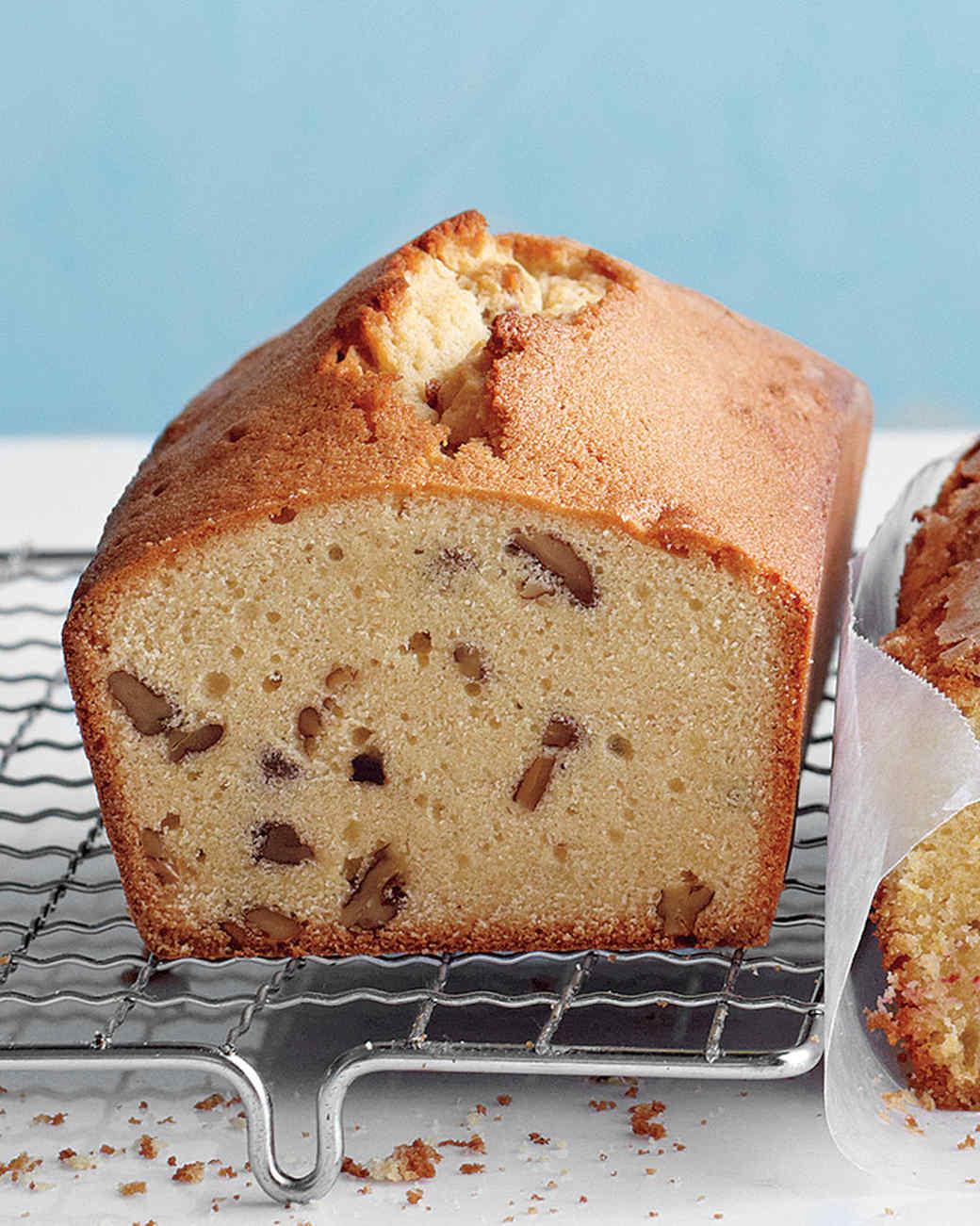 Brown-Sugar, Maple, and Pecan Pound Cake Recipe   Martha Stewart