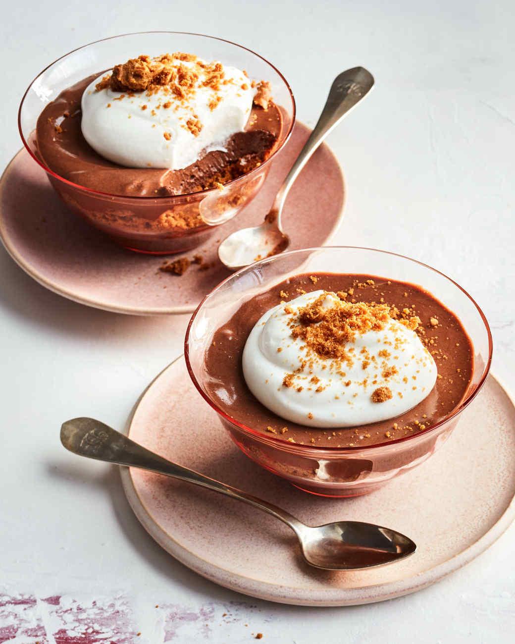 Chocolate-Mousse Parfait Desserts