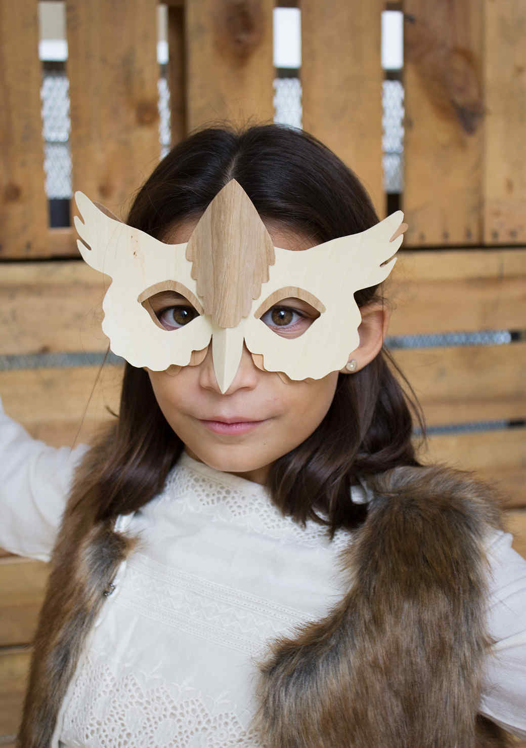 1 Mask, 3 Ways: Make Your Own Woodland Animal Disguise
