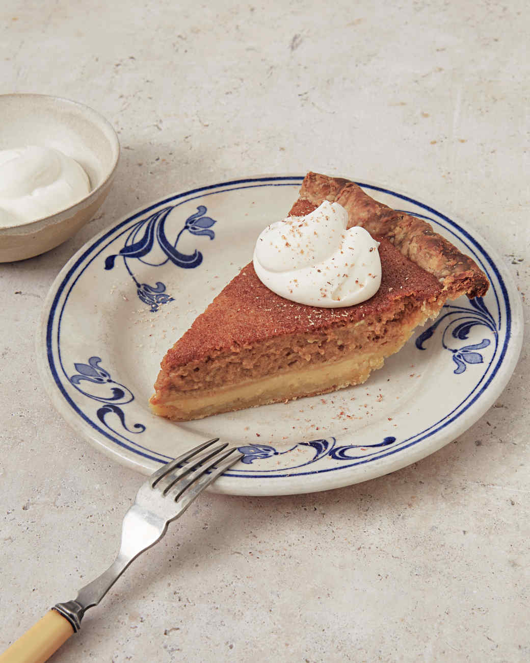 deep dish pumpkin custard pie