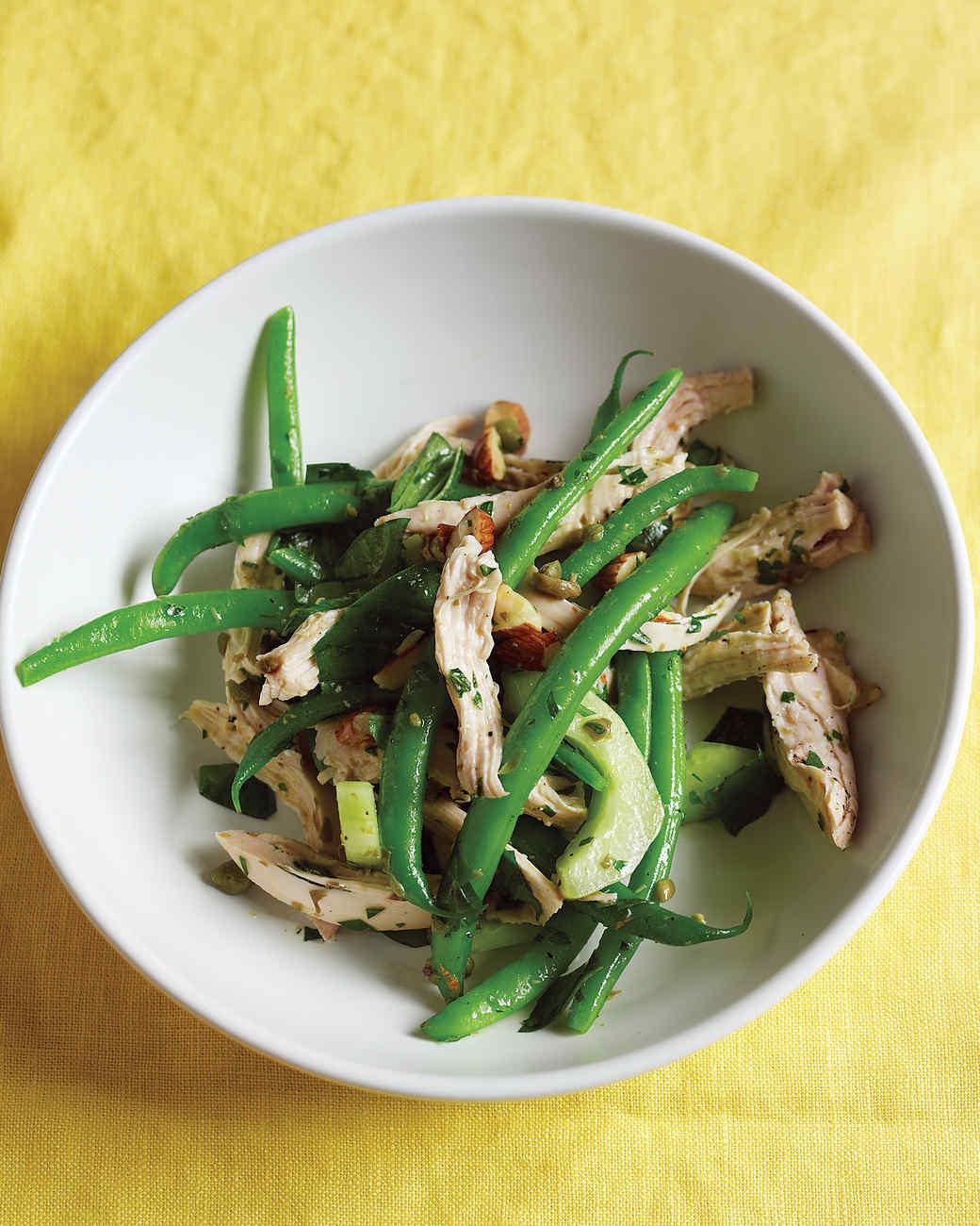 Chicken, Green Bean, and Cucumber Salad
