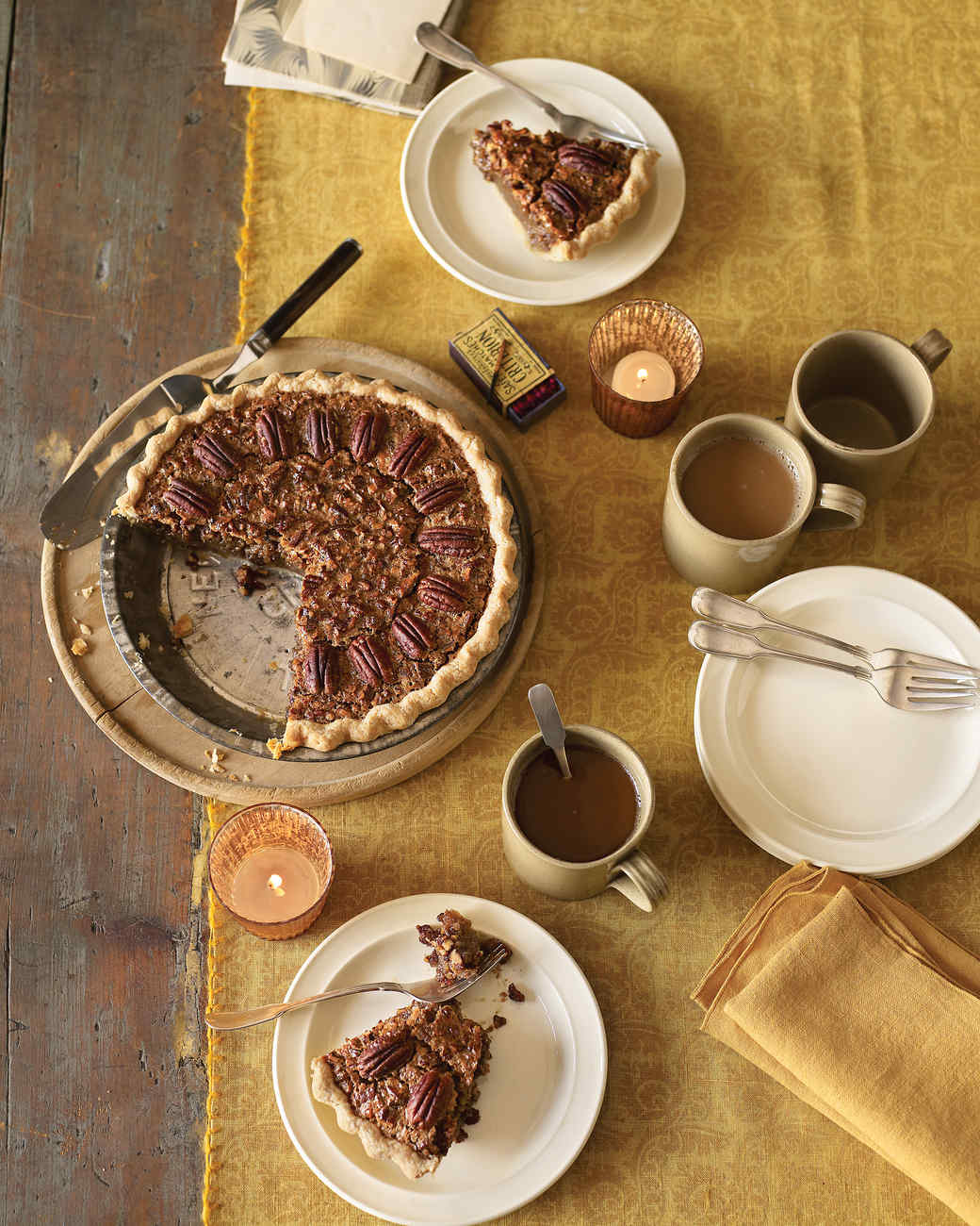 Pecan Pie with Cream Cheese Crust