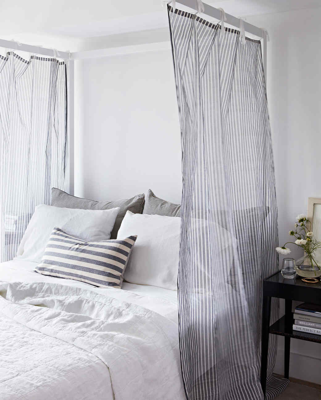 Picture of: Sheer Canopy Bed Curtains Martha Stewart
