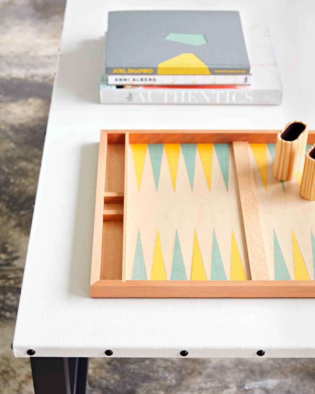 waxed canvas coffee table