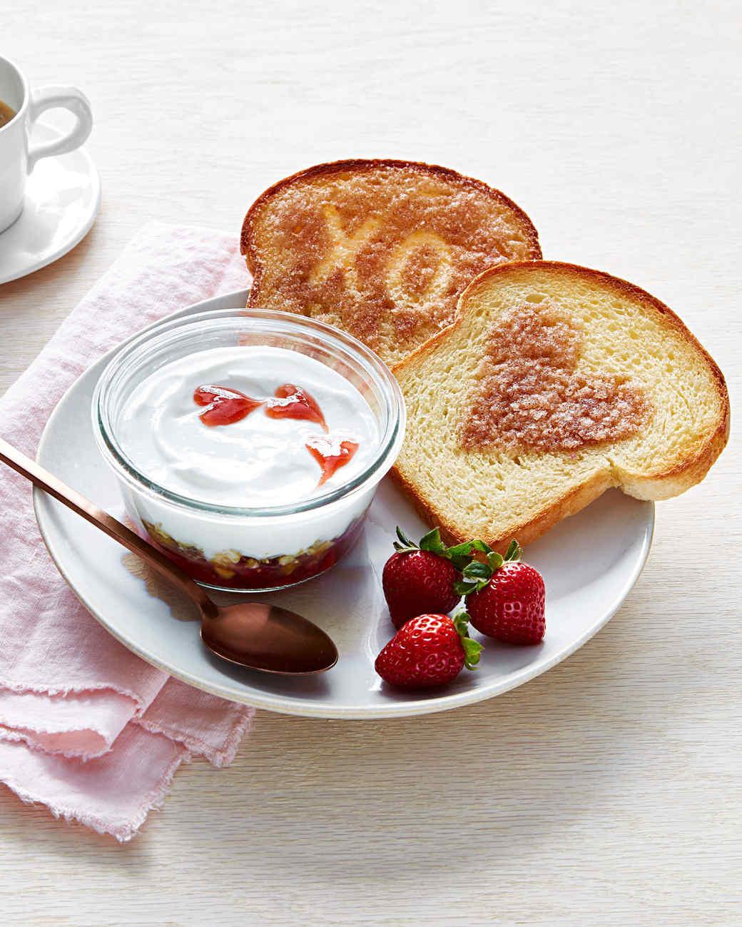 XO cinnamon toast and yogurt