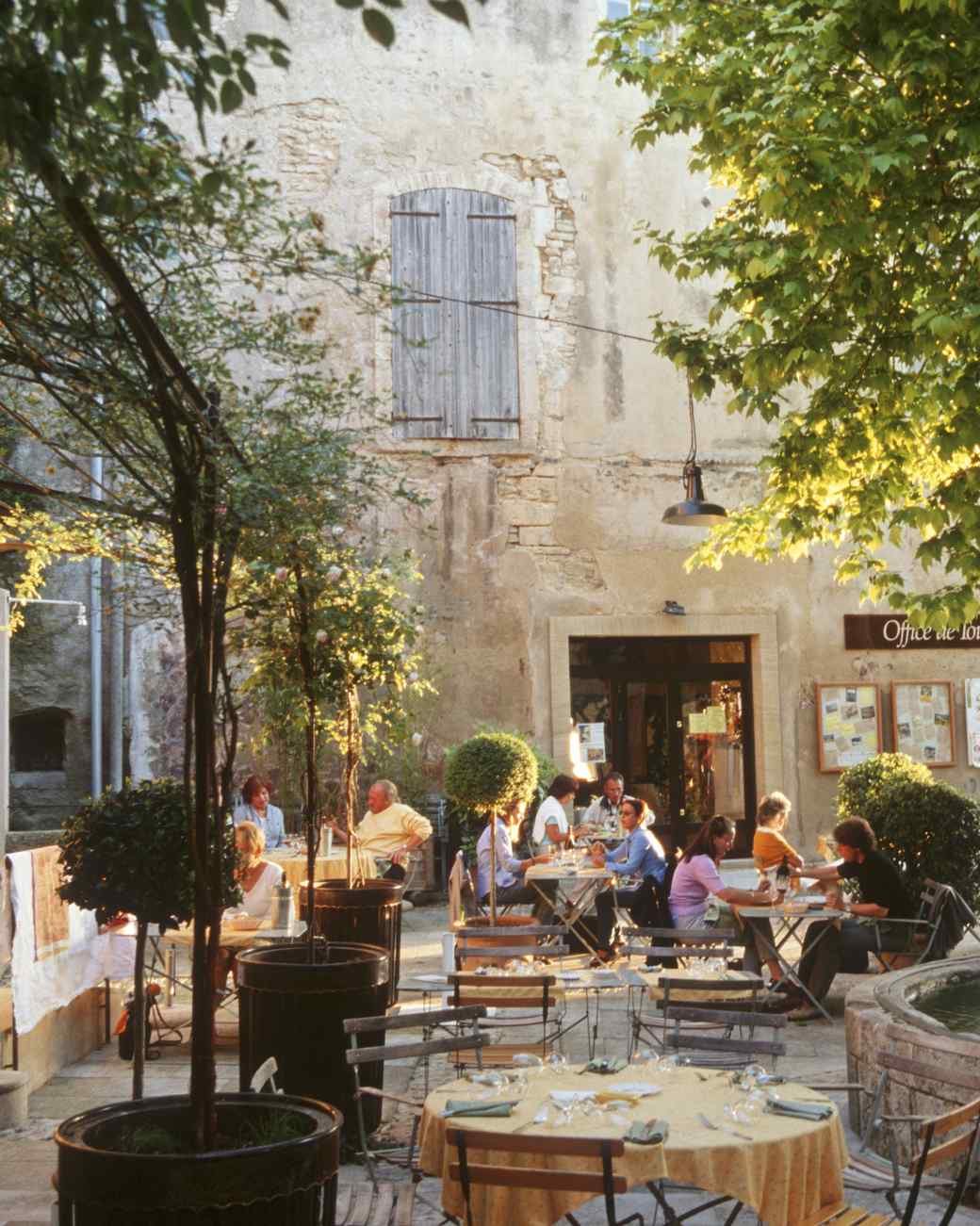 outdoor cafe, Provence, France