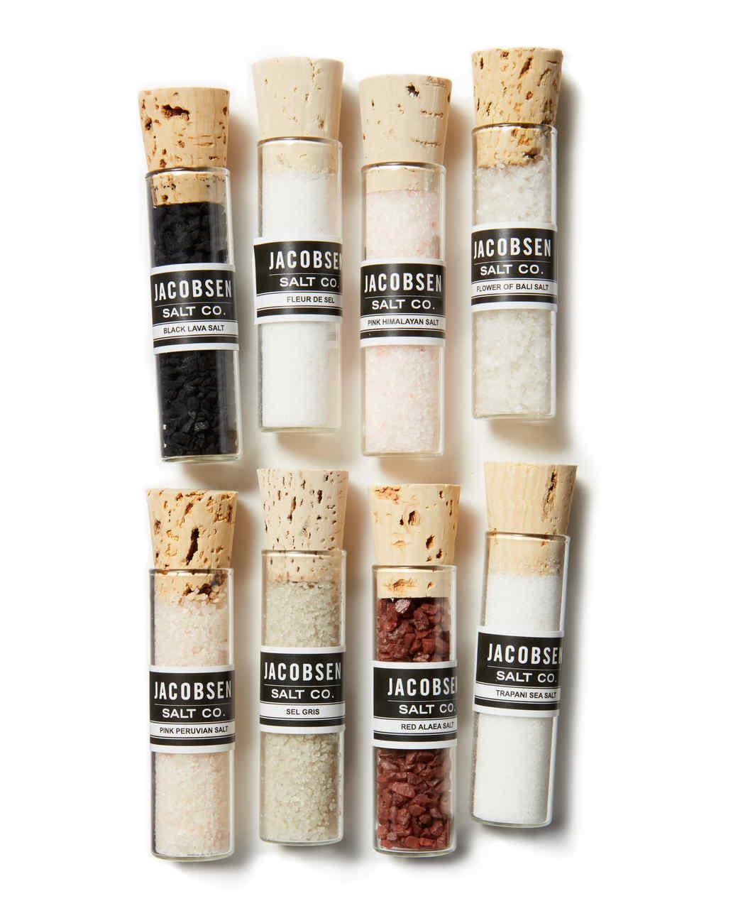 vials of jacobsen specialty salt