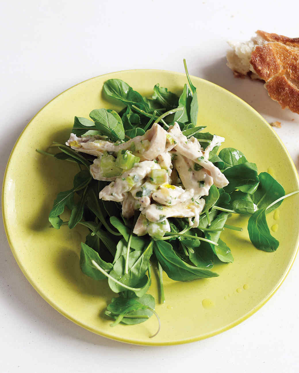 Chicken Salad with Scallions and Yogurt