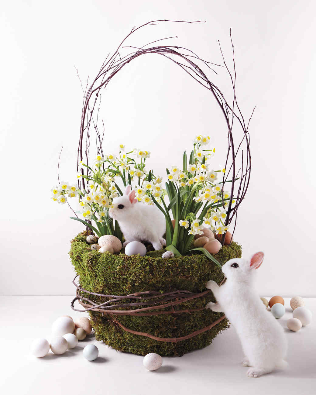 31 awesome easter basket ideas martha stewart for How to make easter decorations for the home