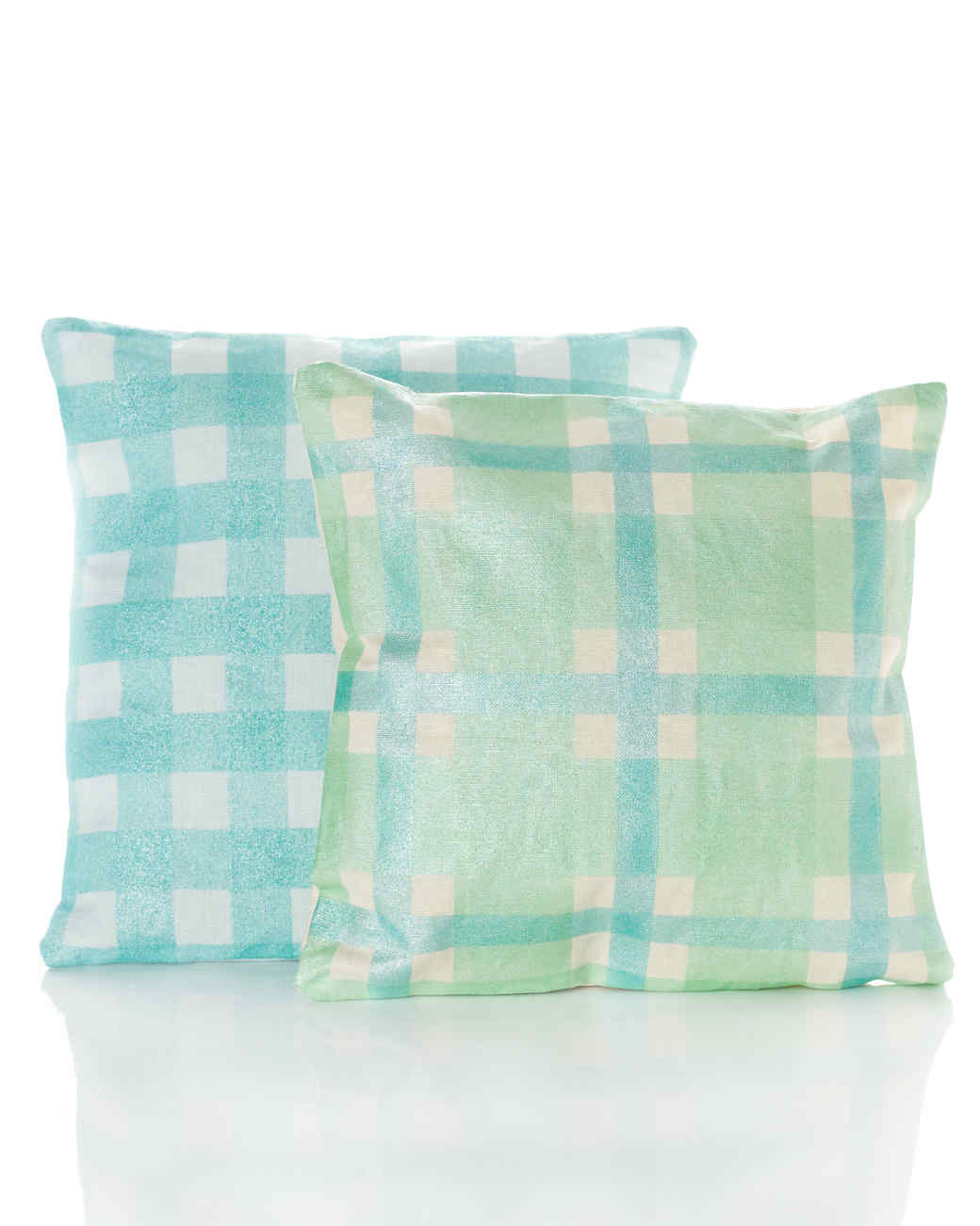Gingham Pillows