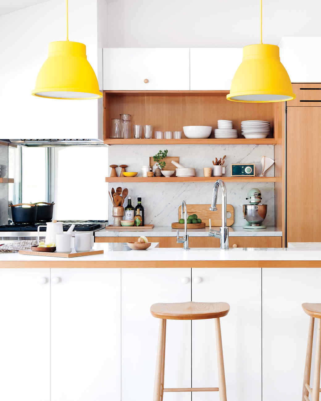 A Colorful Kitchen Remodel That's Truly the Hub of the Home