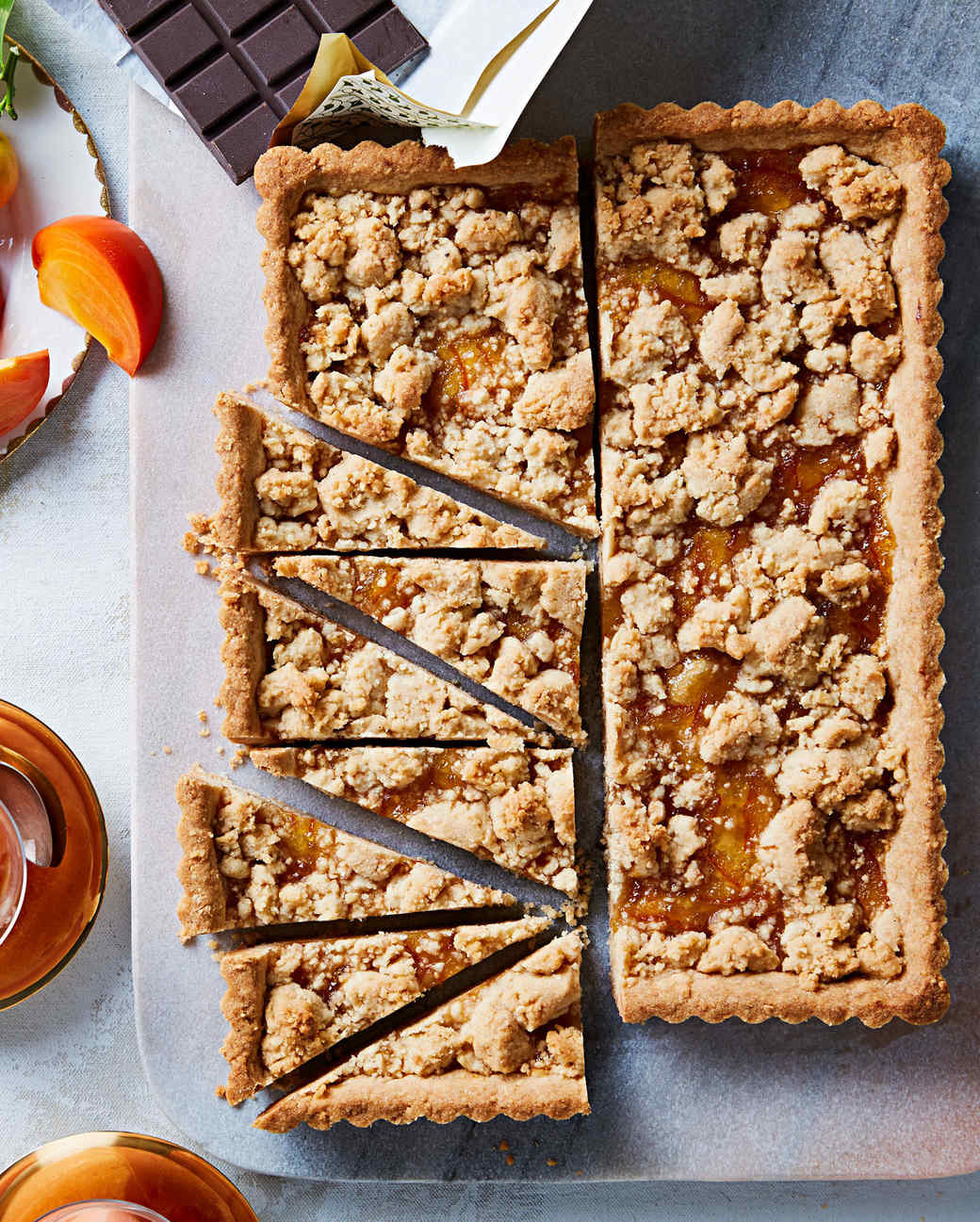 big almond orange ginger cookie