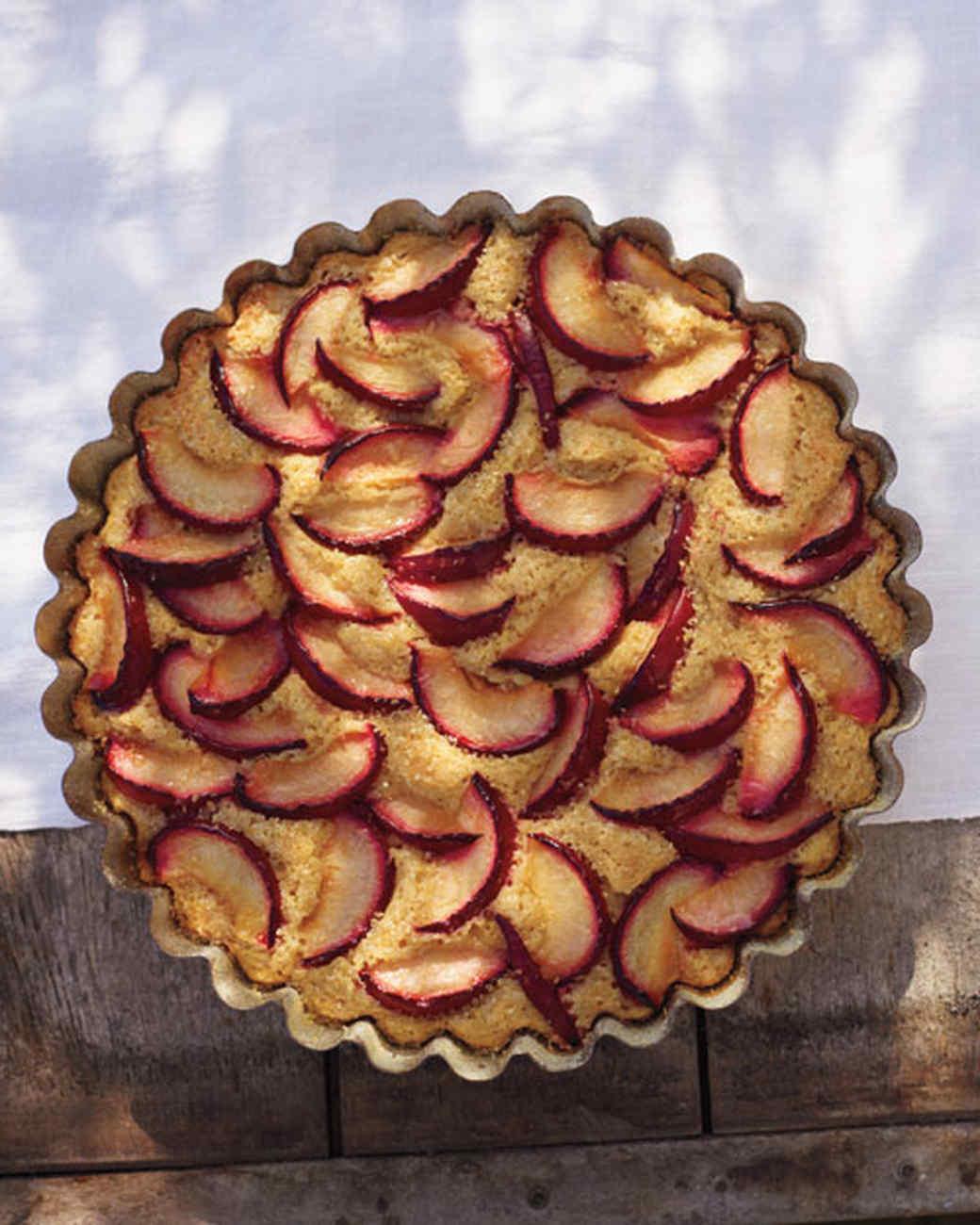 Buttermilk Plum Cake