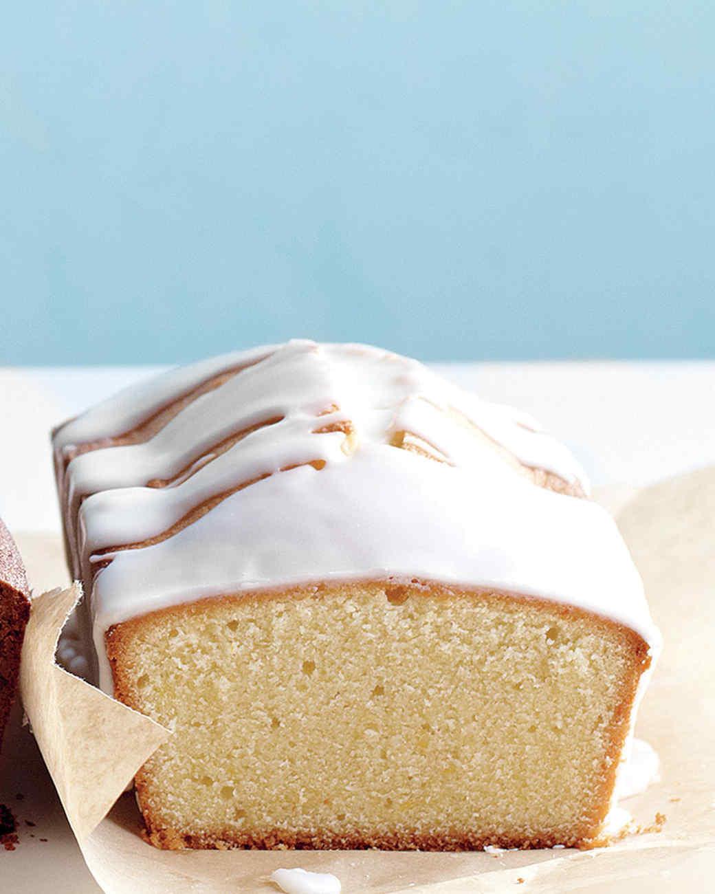 Citrus-Glazed Pound Cake