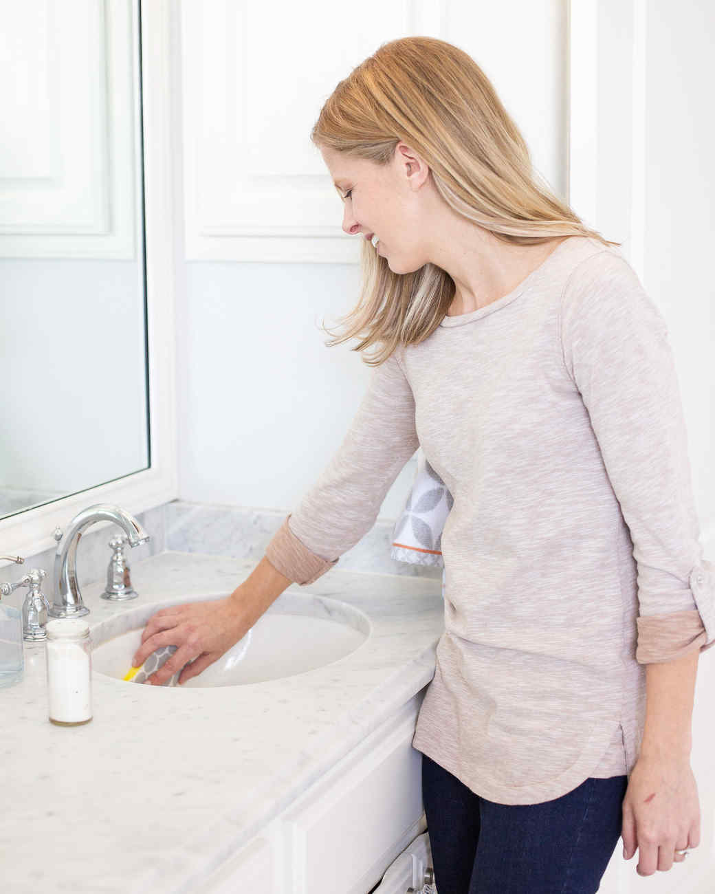 how to clean bathroom cabinets the safest way to clean your bathroom surfaces martha 16847