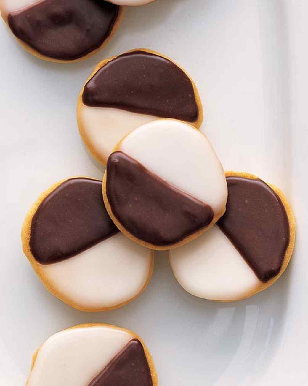 Mini Black-and-White Cookies