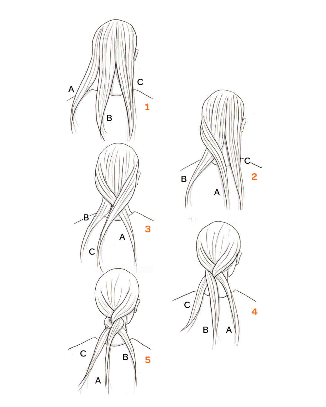 How To Do A Regular Braid Step By Step