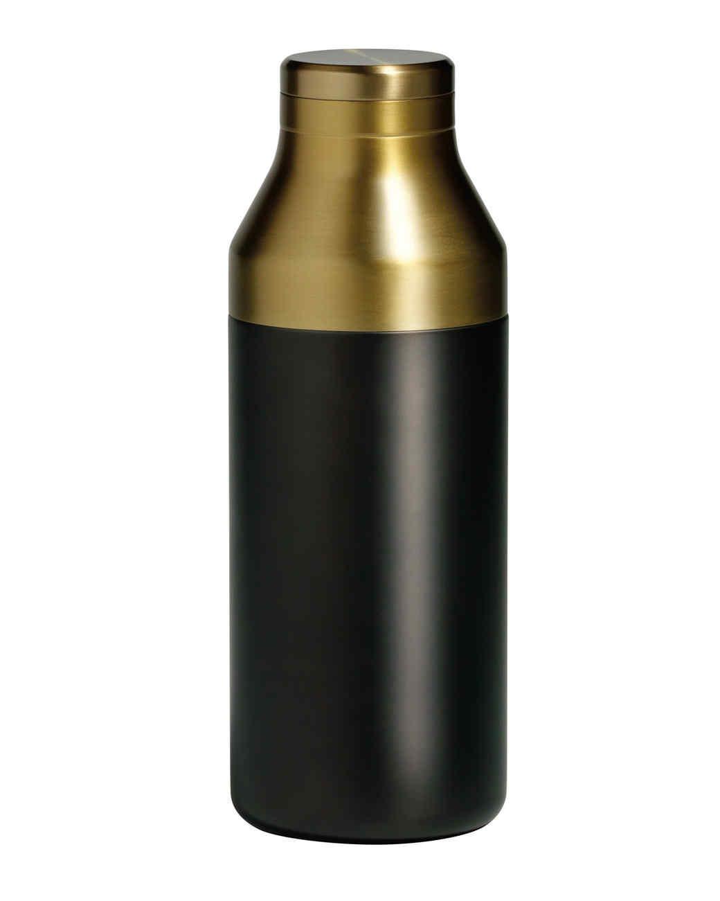 gold cocktail shaker gift