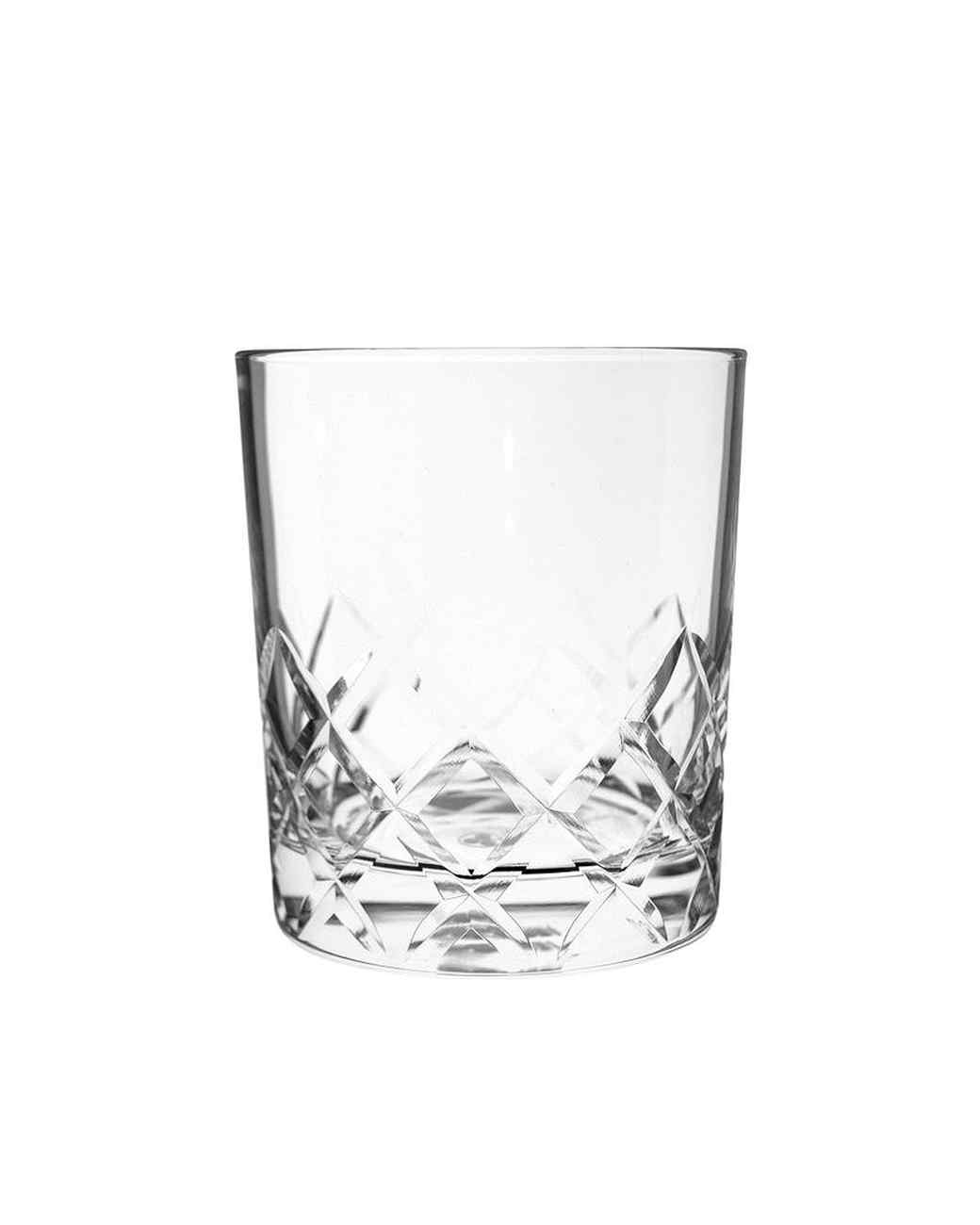 cut rocks glasses