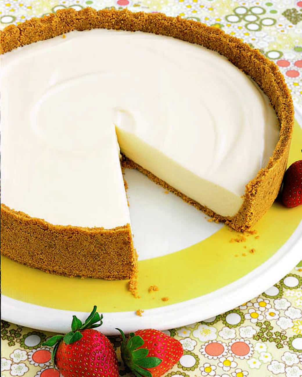 No-Bake Cheesecake Recipe | Martha Stewart