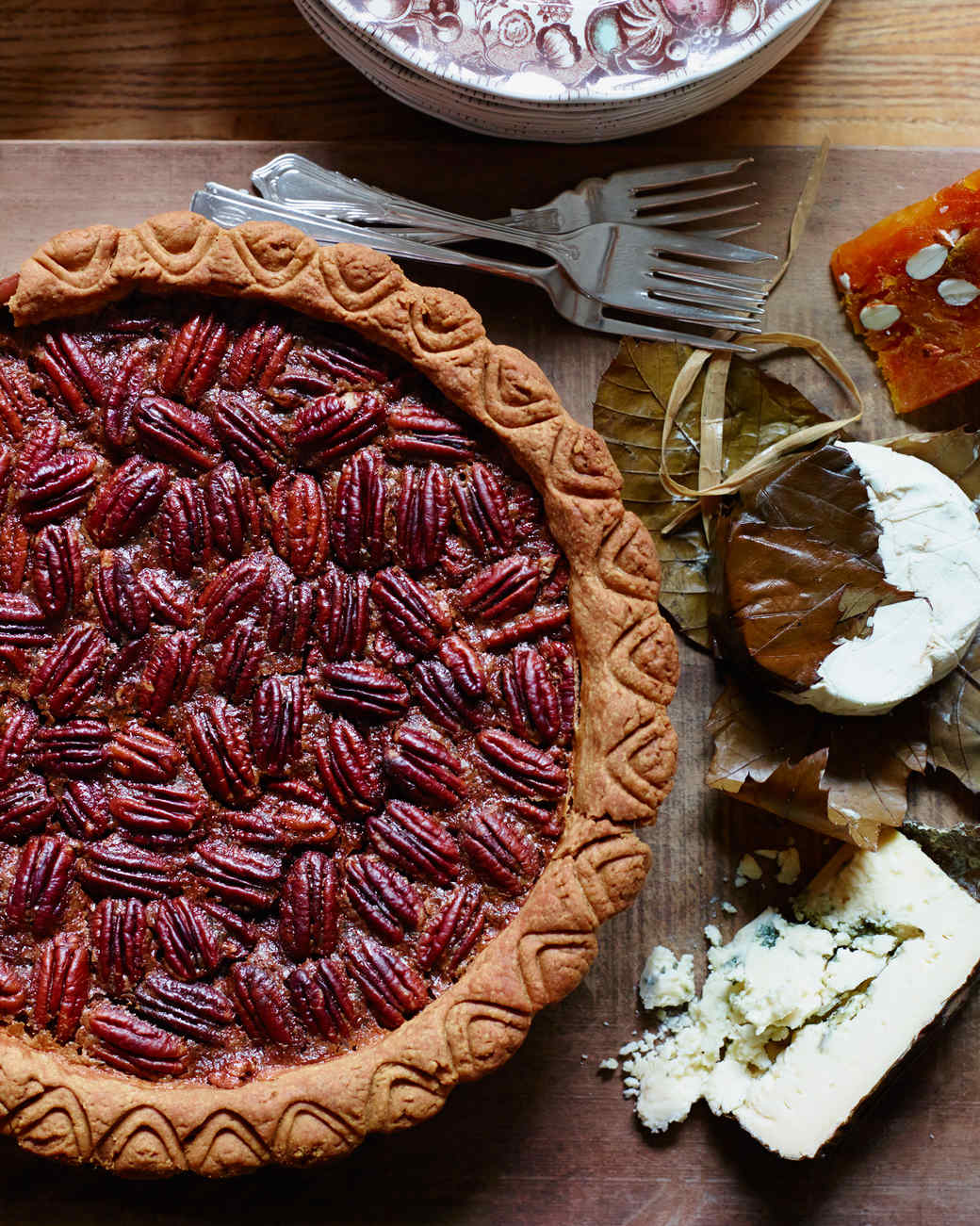 Maple Pecan Pie Recipe | Martha Stewart