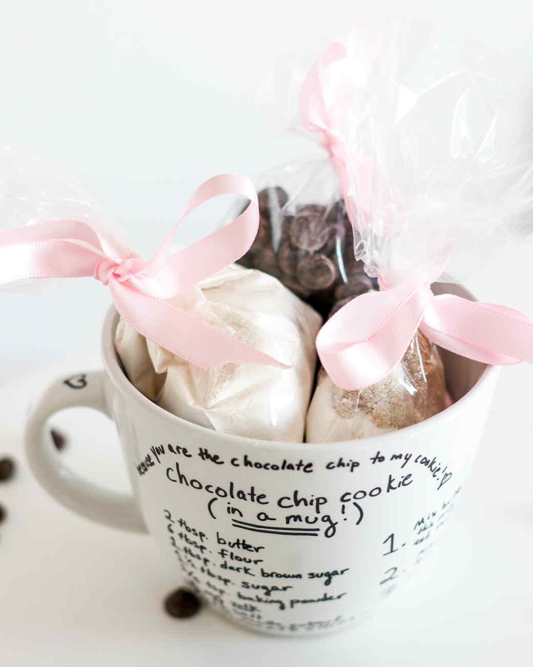 Valentine's Day DIY cookie mug