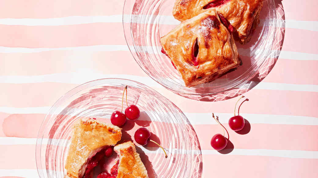 Cherry And Cream Cheese Hand Pies