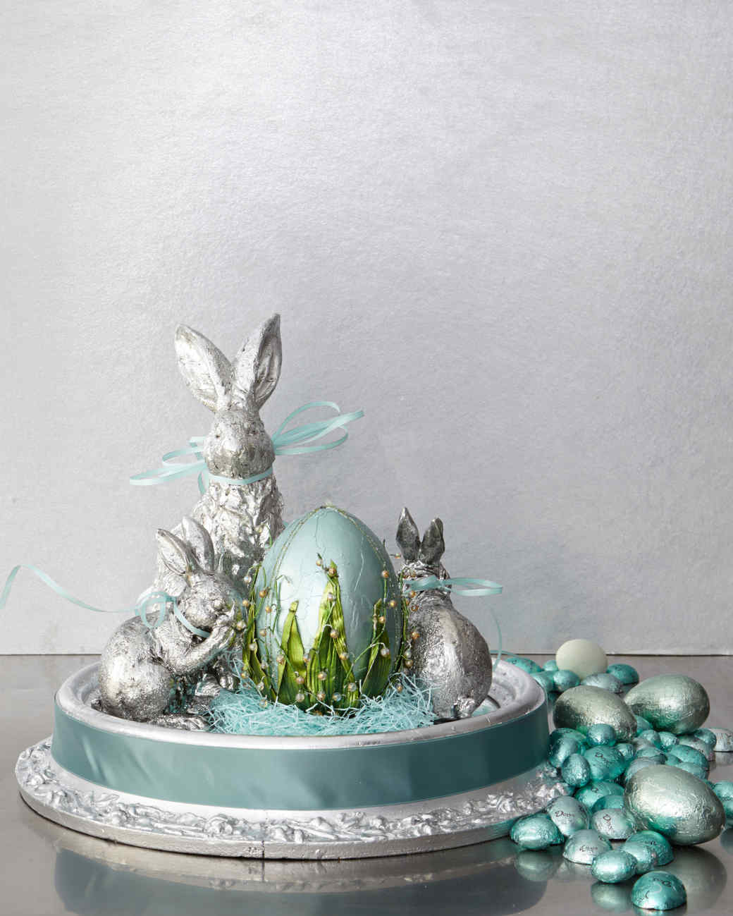 The bright touch nine colorful easter centerpieces