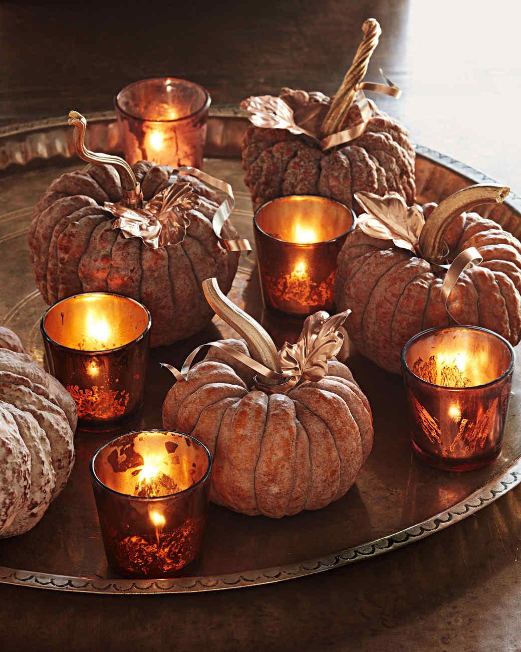 little pumpkin centerpiece