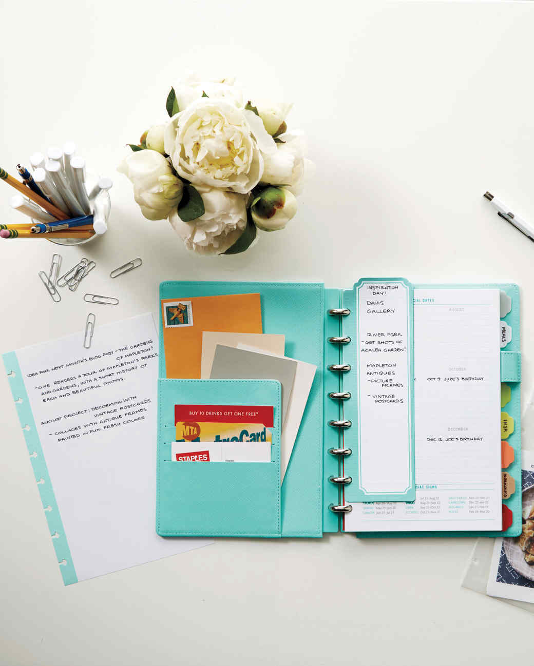 back to school planner